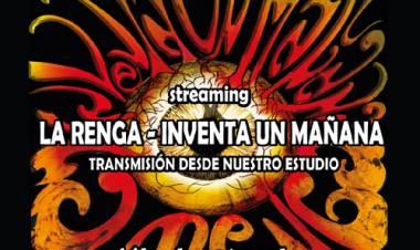 Streaming La Renga - Inventa un Mañana, Sábado 28 de Noviembre - 23Hs