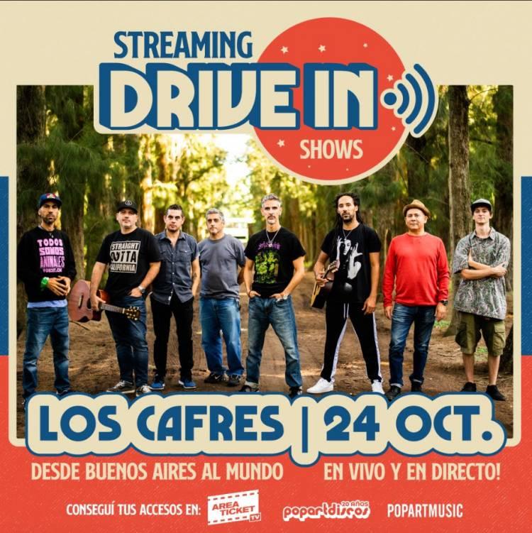 Los Cafres al Mundo vía Streaming, revivi el Show!!!