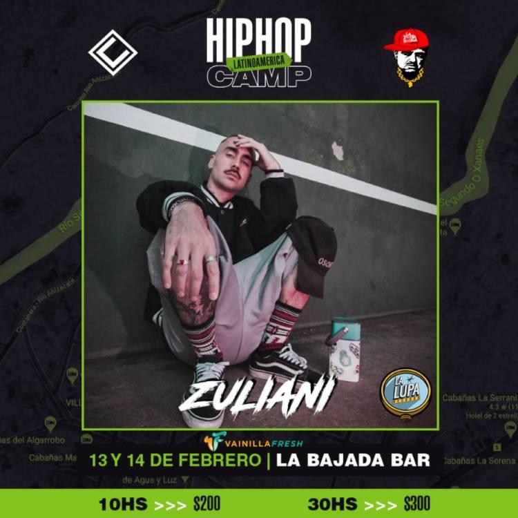 Hip Hop Camp Latinoamerica - Zuliani artista confirmado