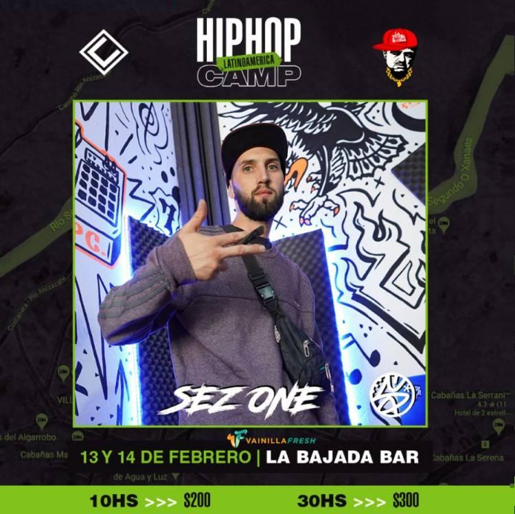 Hip Hop Camp Latinoamerica - Sez One - artista confirmado