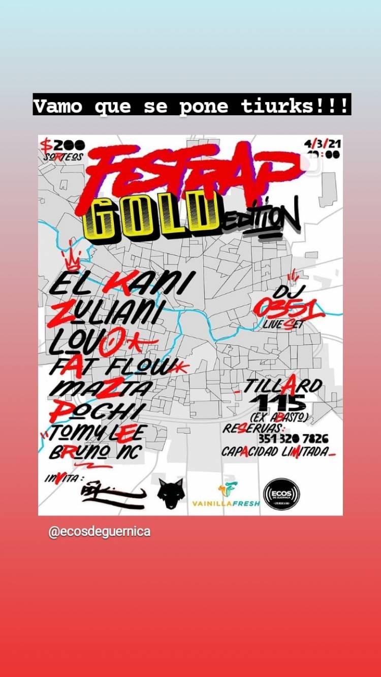FESTRAP gold edition / reseña Flow City
